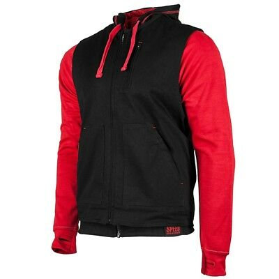 Speed and Strength Bikes Are In My Blood Vest/Hoody Red 2XL