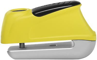 NEW Abus 4003318 55973 0 Motorcycle Trigger Alarm Disc Lock 350 Yellow - 9.5mm