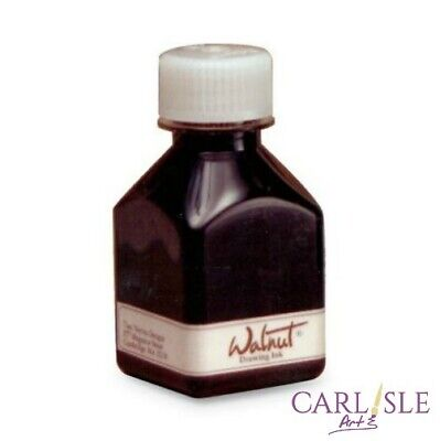 Tom Norton Walnut Drawing Ink 70ml or 290ml. Choose Your Size.