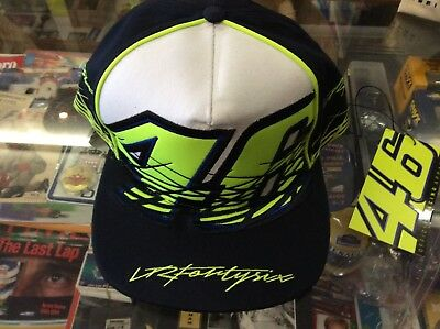 Valentino Rossi Brand New Official Flat Brim Multi Colour Cap