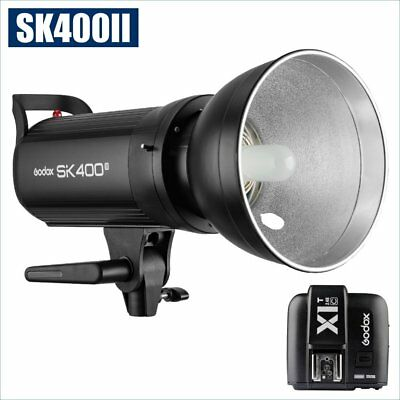 Godox SK400II 400W 2.4G Flash Strobe Light + X1T-C Transmitter for Canon 220V