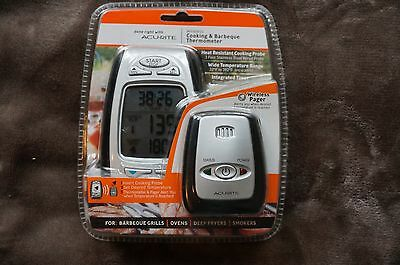 AcuRite 00278 Digital Meat Thermometer and Timer with Pager Chaney Instruments