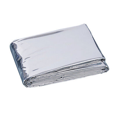 1.3m x 2.1m Portable Waterproof Emergency Space Rescue Thermal Mylar Blankets