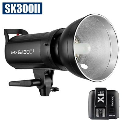 Godox SK300II 300W 2.4G Flash Strobe Light Head + X1T-F Transmitter fr Fuji 220V