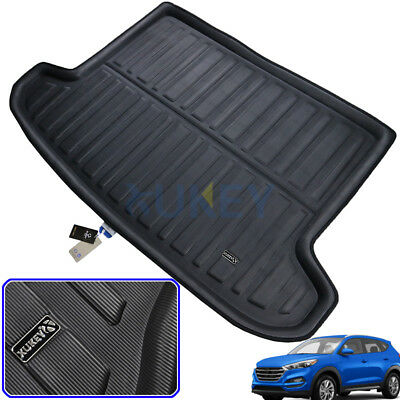 Tailored Boot Liner Cargo Tray Trunk Floor Mat For Hyundai Tucson TL 2015-2019