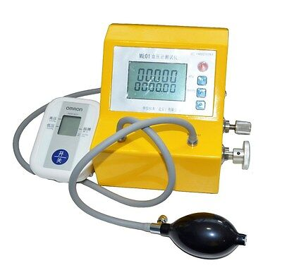 Blood pressure calibration digital aneroid testing with certificate