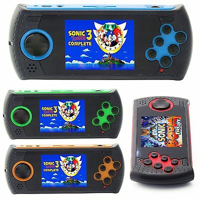 16 Bit Handheld Portable Video Game Console With Built In 100 Games
