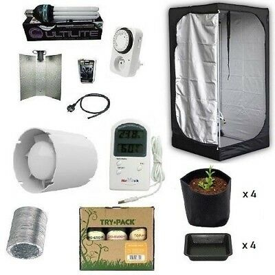 Grow Room Mammoth Lite 100 + HPS 200W Agro - Grow Tent - Kit Coltivazione Indoor