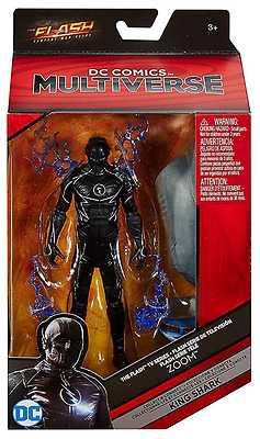 Dc Comics Multiverse The Flash Zoom Figure #2 Collect Connect King Shark