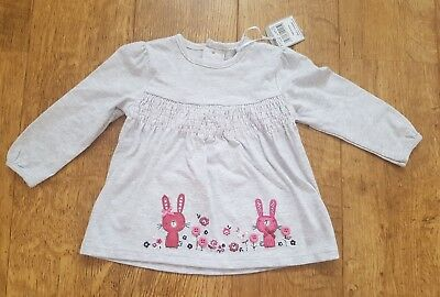 Baby Girls Long Sleeve Top from Tu Brand New With Tags 6-9 Months