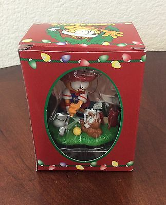 Garfield Christmas Ornament Vintage 1996 GOLF Trim A Tree Collectible