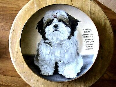 """The Danbury Mint """"heart Of Gold"""" Limited Edition Collectible Plate"""
