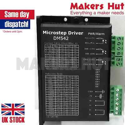 Digital Stepper Driver 1.0-4.2A 20-50VDC For Nema 17, 23, 24 Stepper DM542