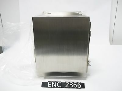 NEW OTHER Hoffman A12106CHNFSS Stainless Steel 13.5x11x6.25 Enclosure (ENC2366)