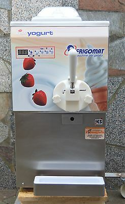 Frigomat KISS YOGURT Softeismaschine Frozen Yogurt Eismaschine Softeis Profi Eis
