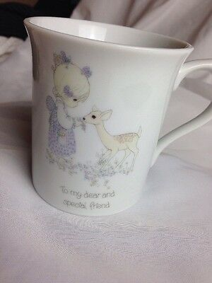 """Vintage 1985 Precious Moments, """"To my Dear and Special Friend"""" Coffee mug - H2"""