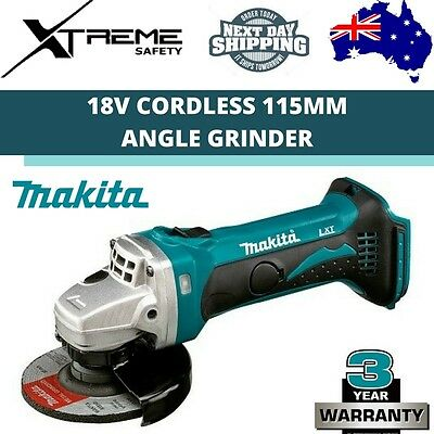 Makita Cordless 115mm Angle Grinder Skin 18V