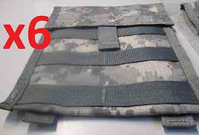 Wholesale Lot of 6 US ARMY MOLLE II ACU DIGITAL CAMO ADMIN MAP UTILITY POUCH