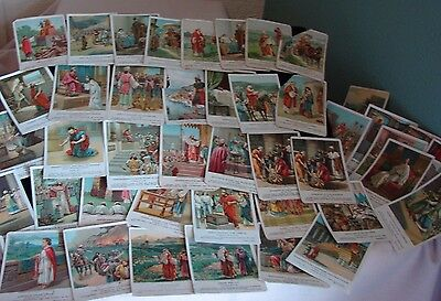 45 Antique United Brethren Publishing Bible Pictures Old Testament Prophet Cards