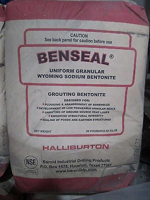 Benseal Grouting Bentonite Water Well Pond Liners Sealing Sealing Plugging Agent