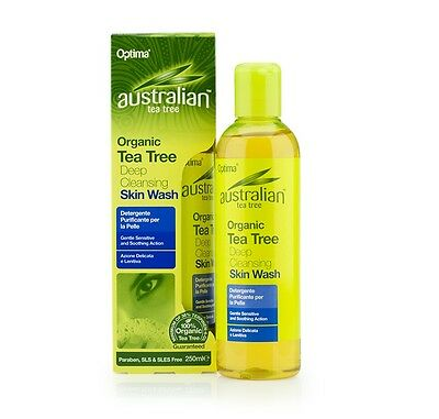 Australian Organic Tea Tree Body Wash 250ml