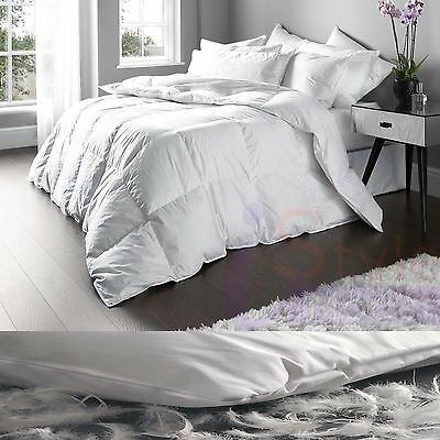Luxury Hotel Quality Duck Feather & Down Duvet Quilt All Sizes & Togs Available