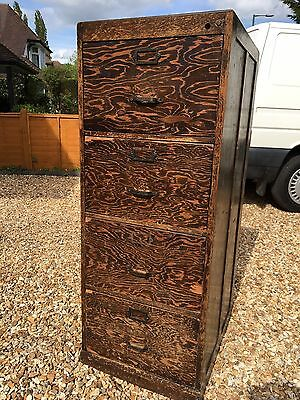 1940's Wooden Filing Cabinet