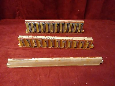 Fontanella Accordion Repair Part - Bass Reeds 4 x 12