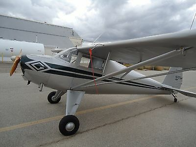Restored 1946 Luscombe 8A Rag Wing 0-200A Stc Beautiful Aircraft Airplane