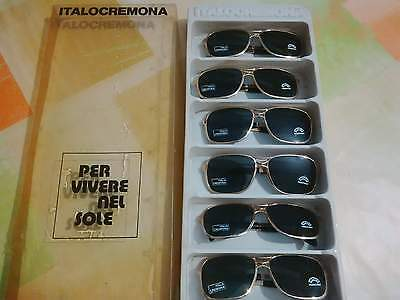 lotto occhiali sole vintage Italocremona lenti vetro lot sunglasses glass lenses