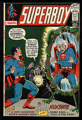 Superboy (1949) #184 First Print New Legion Dial H for Hero Glass Nightmare NM-