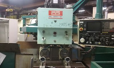 Matsuura mc 1000v d5 CNC Machining Center Twin Spindle  2 Rotary table 4 Axis
