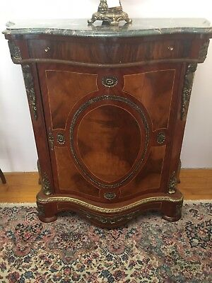 Antique French Marble Top Commode