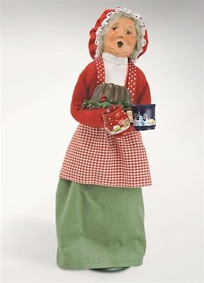 """Byers' Choice Mrs Santa Claus with Treats # 3801W  13"""" NEW 2017"""
