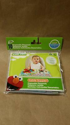Neat Solutions Eco Table Topper - Sesame Street - 10 ct, New, Free Shipping