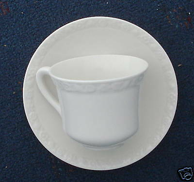 Wedgwood Hedge Rose china 4 sets cup and saucers 8 pcs