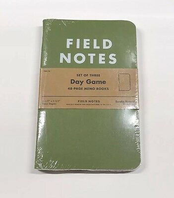 Day Game Field Notes - RARE - SEALED - Summer 2012 - COLORS Limited Edition