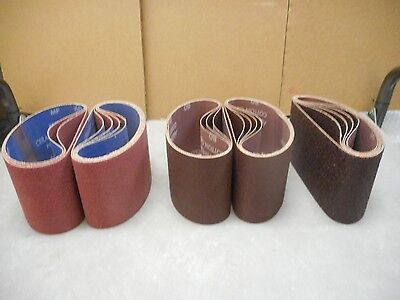 "22 Norton 13-1/2"" X 15-1/2"" Belts, 36; 60;80 Grit Assortment. FREE SHIPPING!"