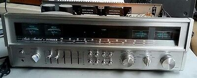 Fisher Model RS 2010 Studio Standard Stereo Receiver 100 watts w/equalizer WORKS