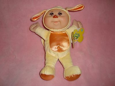 """2012 Cabbage Patch CPK Cuties Puppy Dog Doll 9"""" tall"""