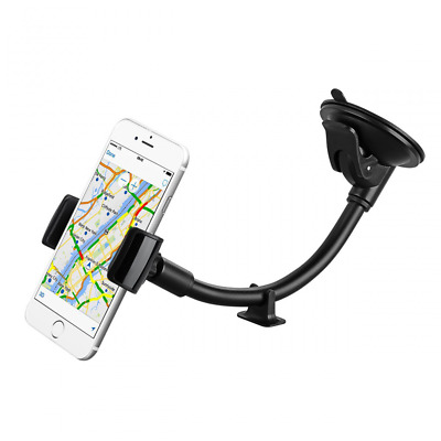 Car Phone Holder, Mpow Windshield 8.66 Inches LongArm Mobile Car Cradle Windscre