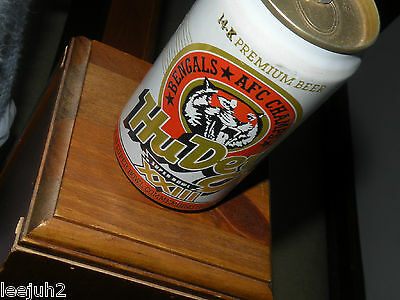 CINCINNATI BENGALS   super bowl  1989 beer can