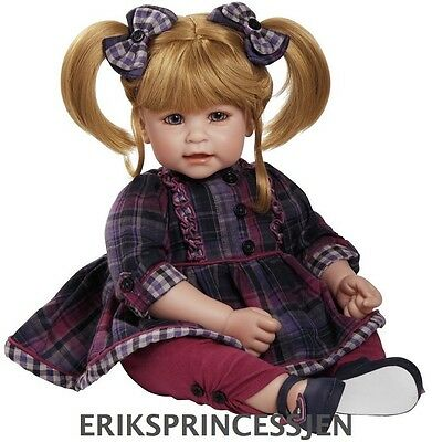 Real Life Like Realistic Weighted Baby Doll Hand Painted Vinyl Toddler Plaid