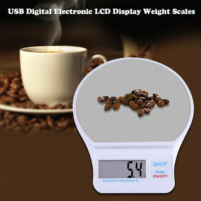5kg/1g Digital LCD display Electronic Kitchen Cooking Food Weighing Scales BT1