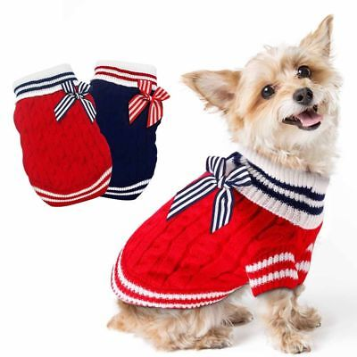 Luxury Pet Dog Sweater Coat Jacket Fall Winter Clothes Puppy Cat Dogs Apparel