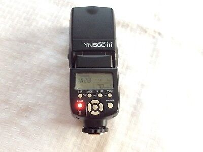 YongNuo Digital Speedlite YN-560 III Shoe Mount Flash for Canon YN560 3