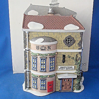 Dept 56 King's Road Post Office 5801-7 Dickens Village Heritage Collection