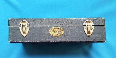 Vintage Barnett & Jaffe Baja 100 Count 35mm Camera Slide Box - Blue Unifile