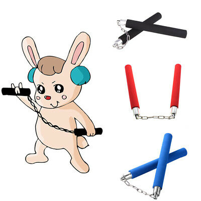 Fashion Nunchaku Martial Arts Foam Sponge Padded Karate Stick Training Nunchucks