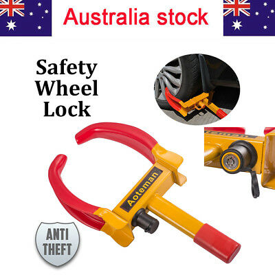 Car Vehicle SUV Heavy Duty Anti Theft Tyre Claw with 2 Key Wheel Tire Lock Clamp